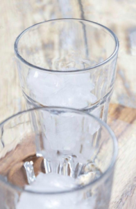 homemade ice vanilla latte