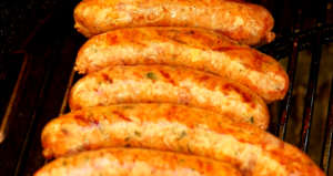 Homemade sausages for Hot dogs