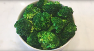 steam broccoli microwave