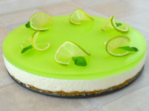 Lime Jello cake step13