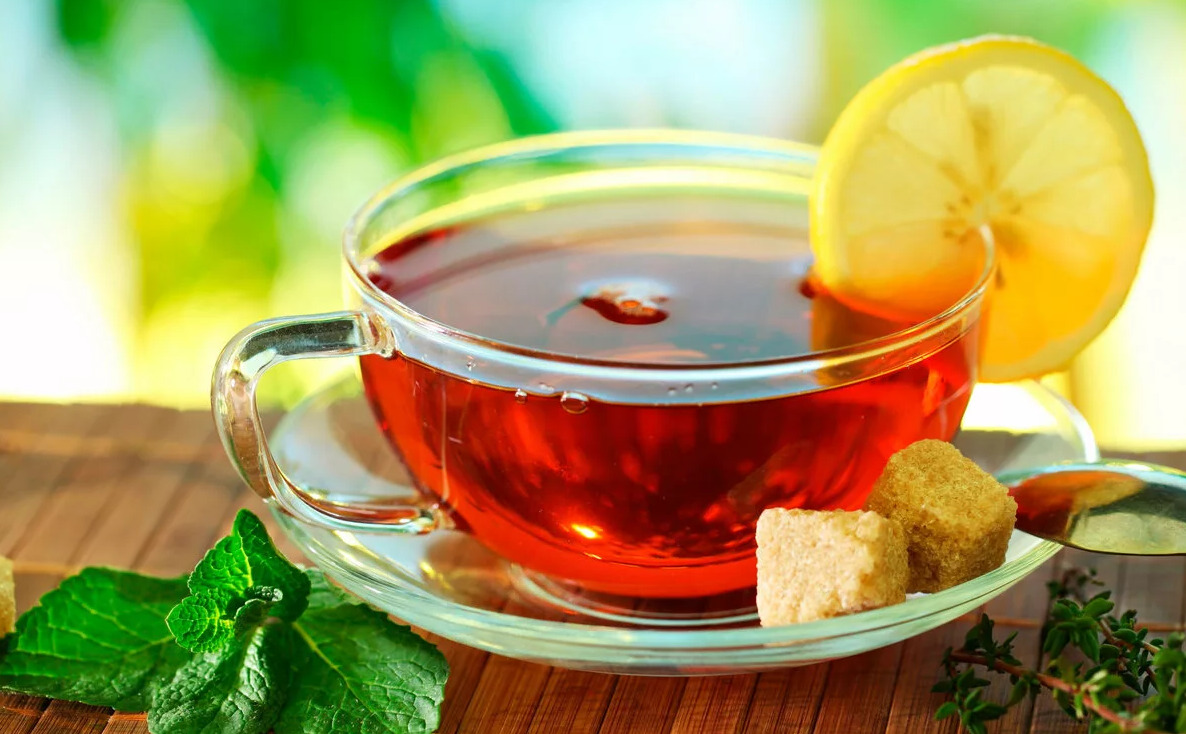 What is lemon tea good for