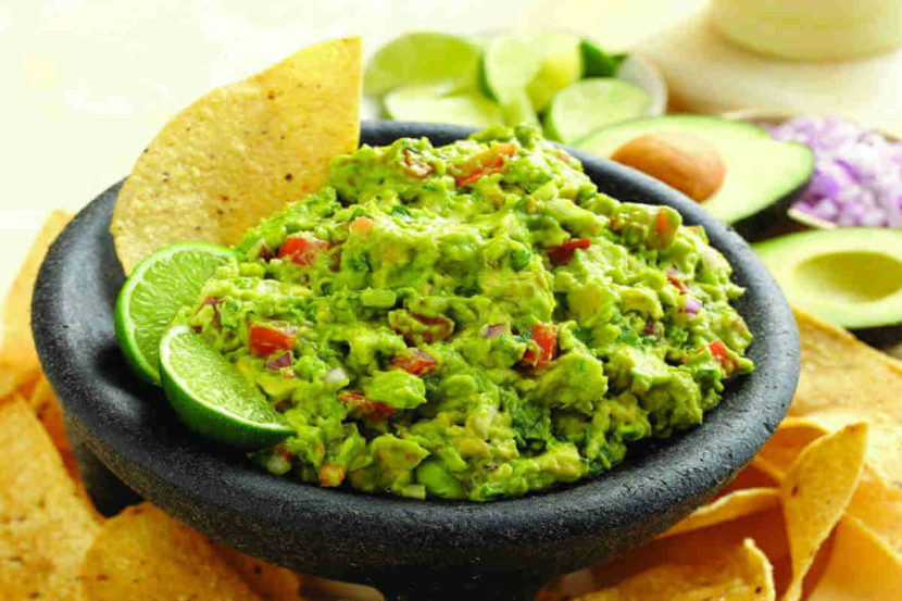 When and where was guacamole invented