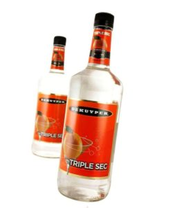 How much alcohol is in Triple Sec?