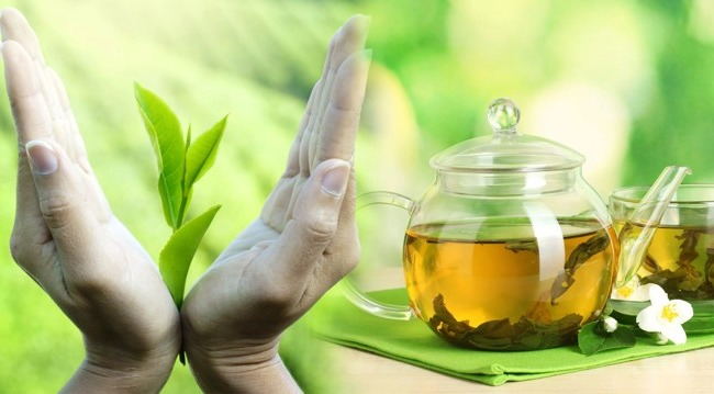 What is the benefit of green tea for women and men, its possible harm