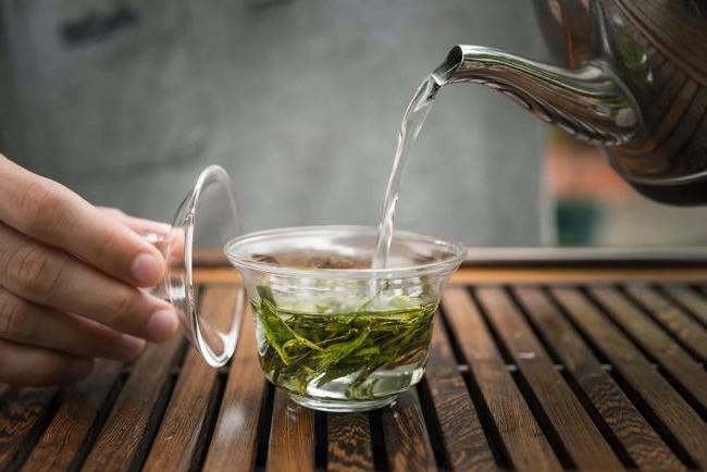 brew green tea