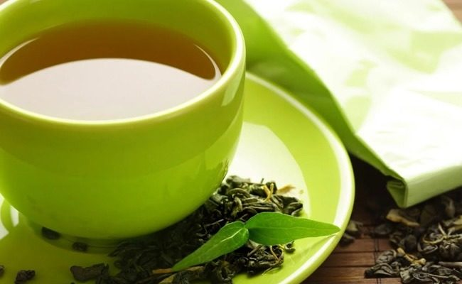 How many calories does green tea have?