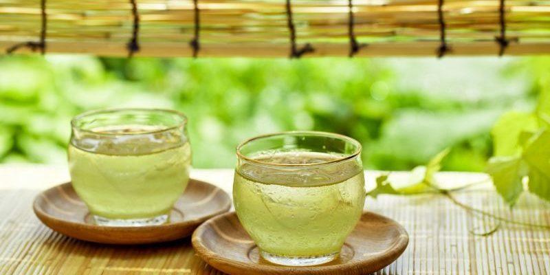 The benefits of diuretic green tea